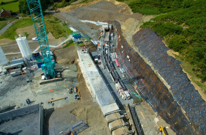 Elan Valley Aqueduct upgrade: Nantmel Tunnel